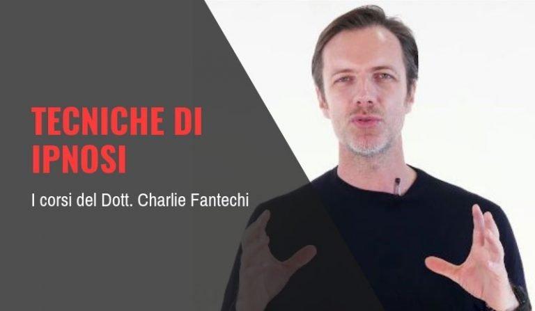 Charlie Fantechi corsi e tecniche di ipnosi